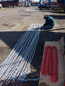 90m of chain