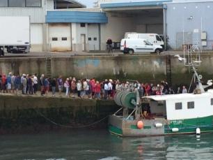 Sardine queue
