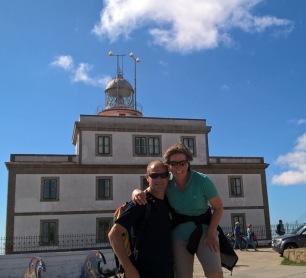 Finisterre lighthouse off Nirth Spanish Coast