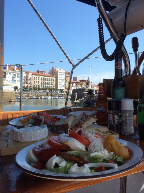 Lunch in Gijon