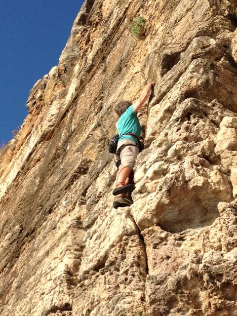 Cascais climbing