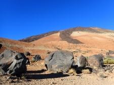Evidence of last lava flow