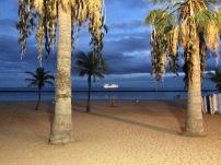 Cruise ship departure