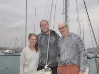 Simon, Hugh and Miranda leaving 4 days ahead of us for Barbados. Don't think we'll catch them.