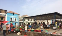 Mindelo outdoor market