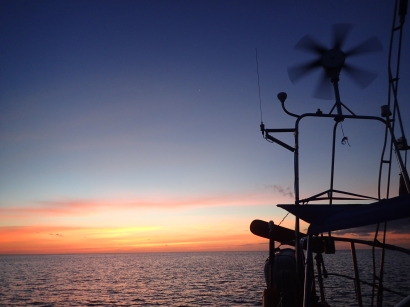 Sunset off Grenada