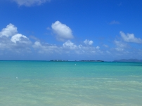 Paradise Beach, Caricou overlooking Sandy Island