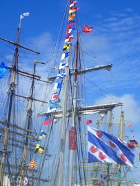Tall ships are in town
