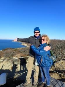 Dave and Sally on Martha's Vineyard