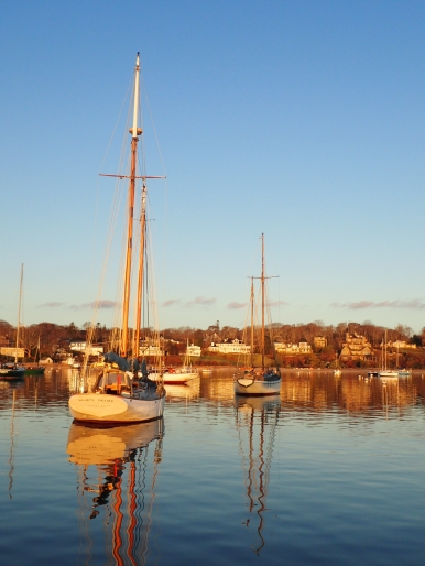 Wooden boats Martha's Vineyard