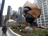 Sculpture found reasonably intact under the rubble of the Twin Towers