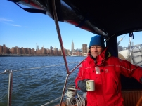 Tea while transitting the east river