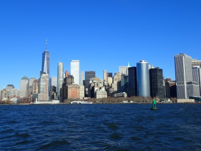 View of Manhattan exiting the city