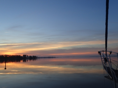 Sunrise on ICW