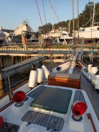 Temporary dockage
