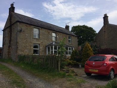 First house - left hand side