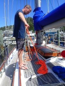 New psychedelic orange rope