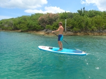 Morning paddle round the islands