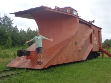 Train Snow plough from Cape Breton