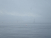 Two yachts ghosting in..