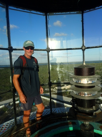 Up the lighthouse on Great Inagua