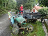 Tractor to climb