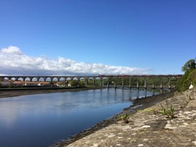 Railway bridge ...with train