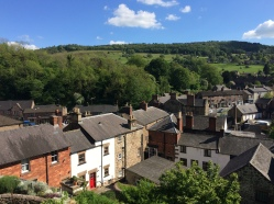 View from our cottage in Derbyshire