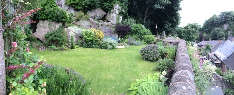 Cottage garden June 2016