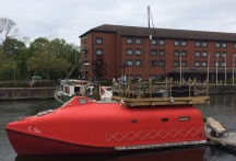 Lifeboat with roof terrace