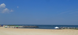 Hampton beach afternoon