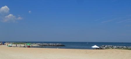 Hampton beach afternoon