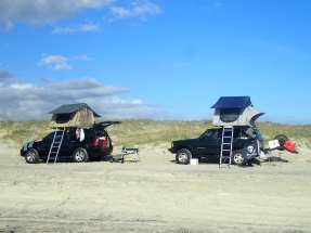 Camping with cars
