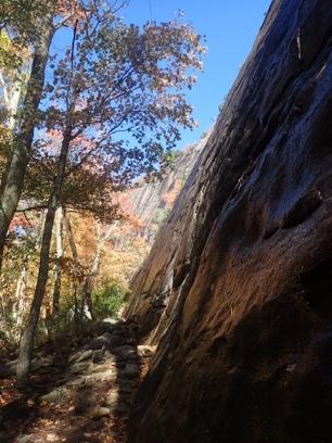 Amazing crag but very wet