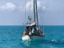 Departing the Bahamas