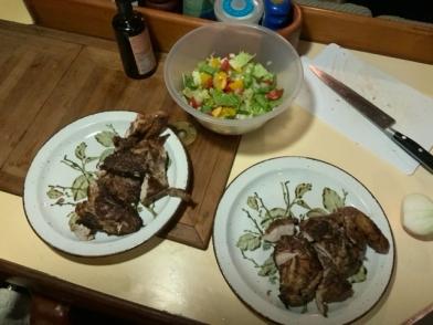 Jwrk chicken dinner