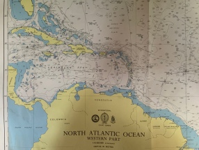 Western Caribbean charts
