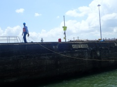 Dockside linehandlers