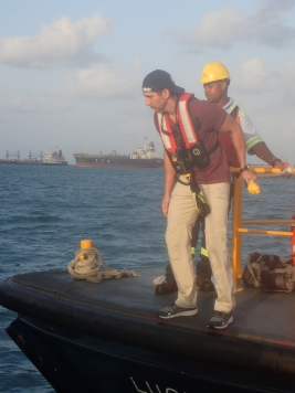 Eduardo coming aboard