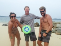 Frisbee team