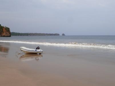 Crocodile beach